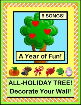 """""""Holiday Tree"""" - Six Songs, Six Crafts!  Decorate Your Roo"""