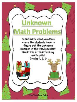 Holiday Unknown Math Problems
