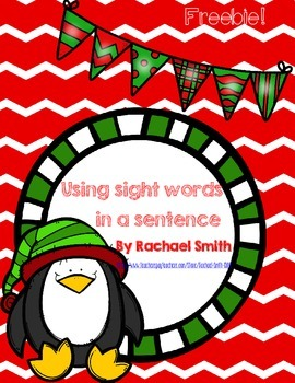 Holiday Using Sight Words in Sentences