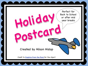 Holiday Vacation Postcards Freebie