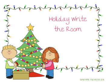 Holiday/Winter Write the Room