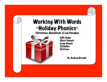 Holiday Word Work
