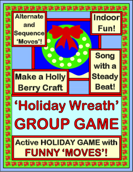 """""""Holiday Wreath Game"""" - Group Game, Craft, and Song for Ch"""