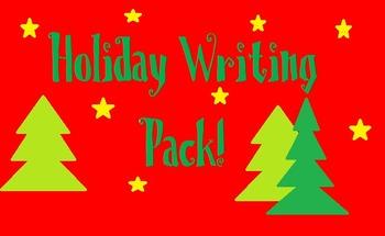 Holiday Writing Activities! {Christmas Time!}