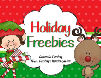 Holiday Writing Freebies
