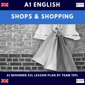 Shops and Shopping A1 Beginner Lesson Plan For ESL