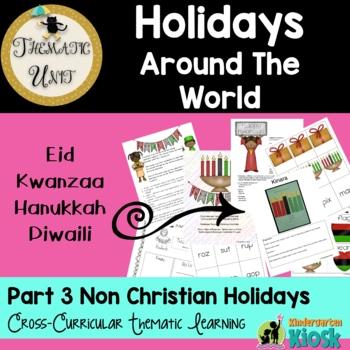 Christmas Around The World:Thematic Unit Part Three (Non C
