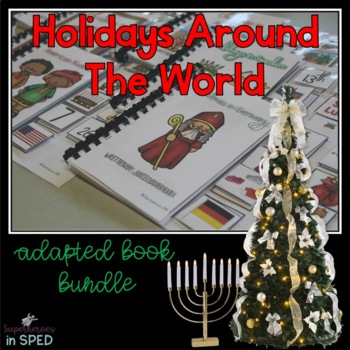 Holidays Around the World- 10 Adapted Books for Children w