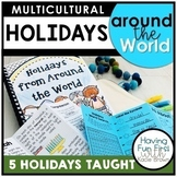 Holidays From Around the World Common Core Aligned
