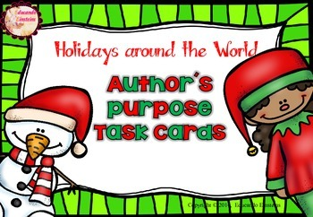 Holidays Around the World (Differentiated Author's Purpose