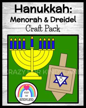 Holidays Around the World: Hanukkah Crafts: Dreidel, Menorah