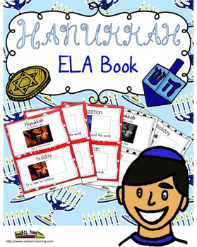 Holidays Around the World Hanukkah Vocabulary Interactive Book