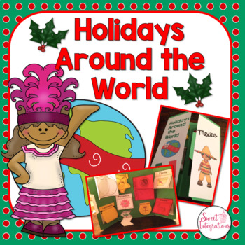 HOLIDAYS AROUND THE WORLD LAPBOOK OR NOTEBOOK - Country Re