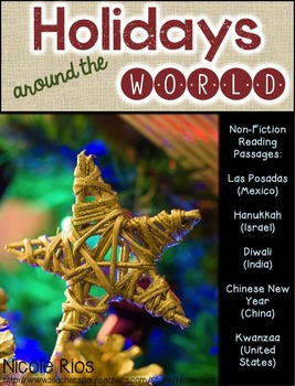 Holidays Around the World (Non-Fiction Reading Passages an