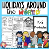 Holidays Around the World: Hanukkah, Christmas, Kwanzaa, E