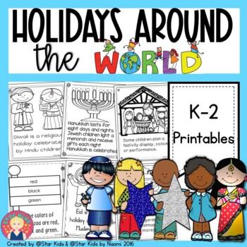 Holidays Around the World: Hanukkah, Christmas, Kwanzaa, E