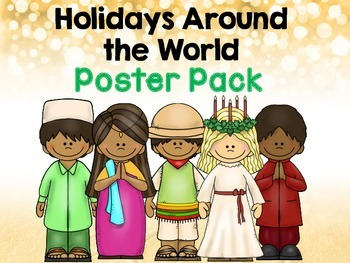 Holidays Around the World- Poster Pack Freebie!