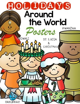 {Holidays Around the World} Posters for the Classroom Kind