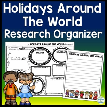 Holidays Around the World Research Activity: Holidays Grap