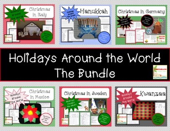 Holidays Around the World-The BUNDLE- CCA w/NonFiciton Boo