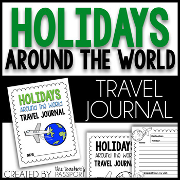 Holidays Around the World Travel Journal