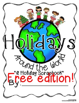 Holidays Christmas Around the World Scrapbook Freebie!
