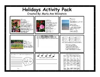 Holidays Activity Pack