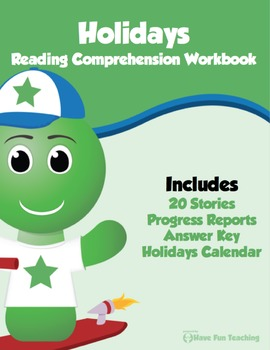 Holidays Reading Comprehension ALL-IN-ONE Bundle