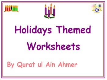 Holidays Themed Color by Numbers Worksheets Christmas Kwan