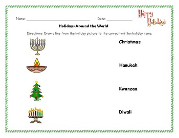 Holidays around the world matching