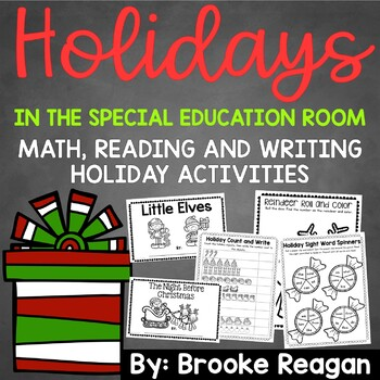 Holidays in the Special Education Classroom