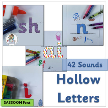Hollow Letters follows same sequence of sounds as Jolly Ph