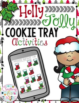 Holly Jolly Cookie Trays