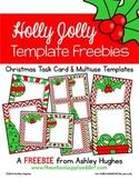 FREE Holly Jolly Templates