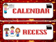 Hollywood Schedule Cards -Marquee Lights