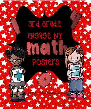 Hollywood/All Star Themed Engage NY Math Posters