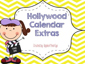 Hollywood Calendar Extras Bundle