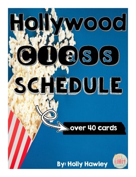 Hollywood Class Schedule