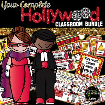 Hollywood:  Movie Themed Classroom Decorations