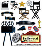 Hollywood Icons Clipart