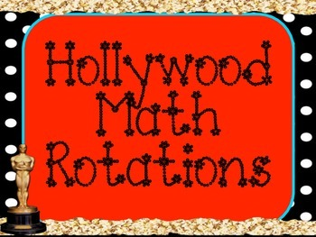 Hollywood Math Rotations Board