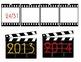 Hollywood-Movie Calendar Set