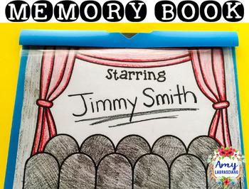 Memory Book Hollywood Theme