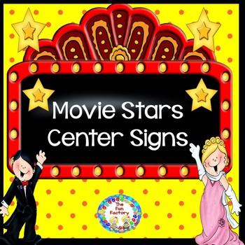 Hollywood Movie Stars  Themed Center Signs and  Management