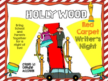 Hollywood Red Carpet Writers Night