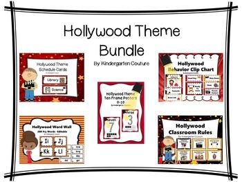Hollywood Theme Classroom Bundle