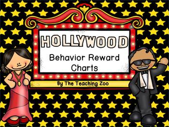 Hollywood Themed Behavior Reward Charts