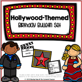 {Hollywood-Themed Birthday Bulletin Board Set}