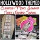 Hollywood Themed Classroom Money, Rewards & Behavior Chart