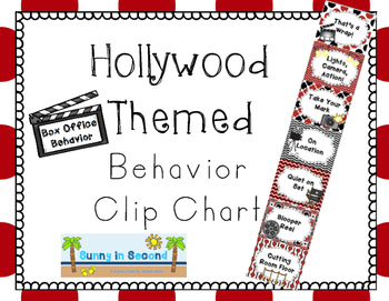 Hollywood Themed Clip Chart